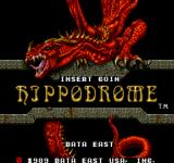 Hippodrome Arcade Title Screen.