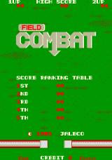 Field Combat Arcade Title Screen.