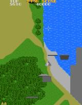 Super Xevious Arcade River  and flying walls
