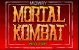 Mortal Kombat Arcade Title screen