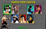 Mortal Kombat Arcade Choose your fighter