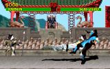 Mortal Kombat Arcade Raiden special move on Sub-Zero