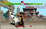 "Mortal Kombat Arcade Scorpion's ""Get over here"""