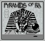 Pyramids of Ra Game Boy Title