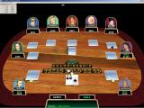 Texas Hold'em 3D XP Championship Windows One of the menu bar options is a drop down box that shows the odds of the player making each kind of hand
