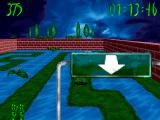 3D Frog Frenzy Windows Traversing a maze-like level