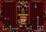 Puyo Puyo 2 Arcade Game in progress