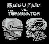 RoboCop vs. The Terminator Game Boy Title