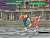 Virtua Fighter 2 Arcade Strong kick in Pai