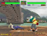 Virtua Fighter 2 Arcade Under bridge