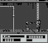 RoboCop vs. The Terminator Game Boy crouch shot