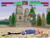 Virtua Fighter 2 Arcade Jump on rival