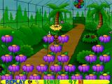 Putt-Putt and Pep's Dog on a Stick Windows Jumping on this yellow flower transports you to a bonus level.