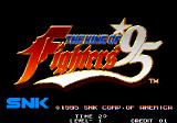 The King of Fighters '95 Arcade Title screen