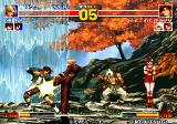 The King of Fighters '95 Arcade Kick in balls