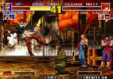 The King of Fighters '95 Arcade Flying Iori
