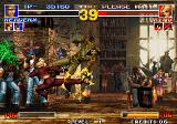 The King of Fighters '95 Arcade King's special kick