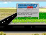 Crosscountry USA (Home Edition) DOS Title Screen
