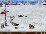 Heroes of Might and Magic III: The Restoration of Erathia Windows snow battle
