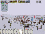Medieval: Total War Windows Battle in snow