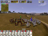 Medieval: Total War Windows Calvary fight