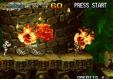 Metal Slug X Arcade Flamethrower