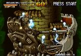 Metal Slug X Arcade Boss fight