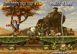 Metal Slug X Arcade Train mission