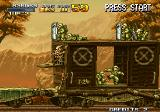 Metal Slug X Arcade Complicated fight