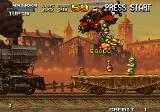 Metal Slug X Arcade Helicopter fight