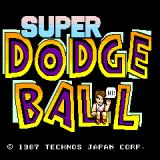 Super Dodge Ball Arcade Title screen (US version)