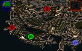 NeoHunter DOS Zoom in and choose your destination - red indicates action sequences