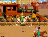 Sunset Riders Arcade Chase train