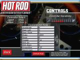 Hot Rod: American Street Drag Windows One of the game's configuration screens. This shows the choice of controllers and that the action keys can be redefined