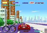 Turbo Out Run Arcade Competing with the Porshe.