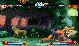 Street Fighter III: 2nd Impact - Giant Attack Arcade And here, Oro executes a throw against Ibuki.