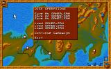 Conquest of Japan Atari ST Ingame options