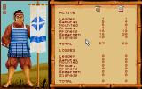 Conquest of Japan Atari ST We outnumber them on spears, so how to take advantage from this?