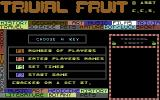 Trivial Fruit Commodore 64 Title Screen.