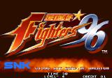 The King of Fighters '96 Arcade Title screen