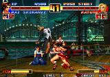 The King of Fighters '96 Arcade Mature's blood slap