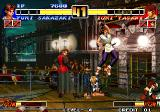The King of Fighters '96 Arcade Yuri's failed uppercut