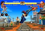 The King of Fighters '96 Arcade Leg grab