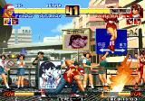 The King of Fighters '96 Arcade Terry's flame from fist