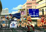 The King of Fighters '96 Arcade Andy wins, throw Kasumi