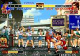 The King of Fighters '96 Arcade Joe has troubles