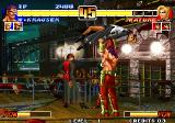 The King of Fighters '96 Arcade W. Krauser and Mature in ballet pose