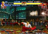The King of Fighters '96 Arcade Beating lying Vice