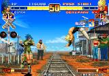 The King of Fighters '96 Arcade Benimaru's spinning jump