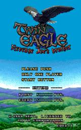 Twin Eagle Arcade Title screen